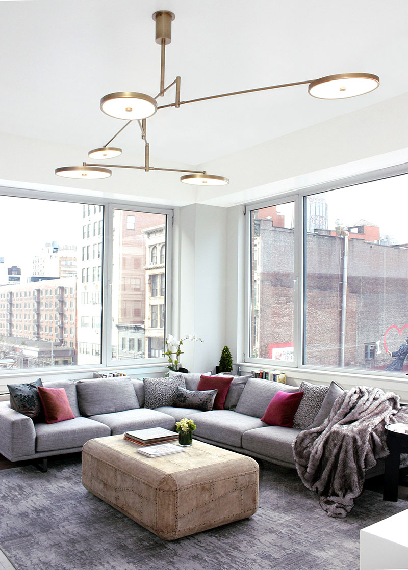 Manhattan apartment interior designer