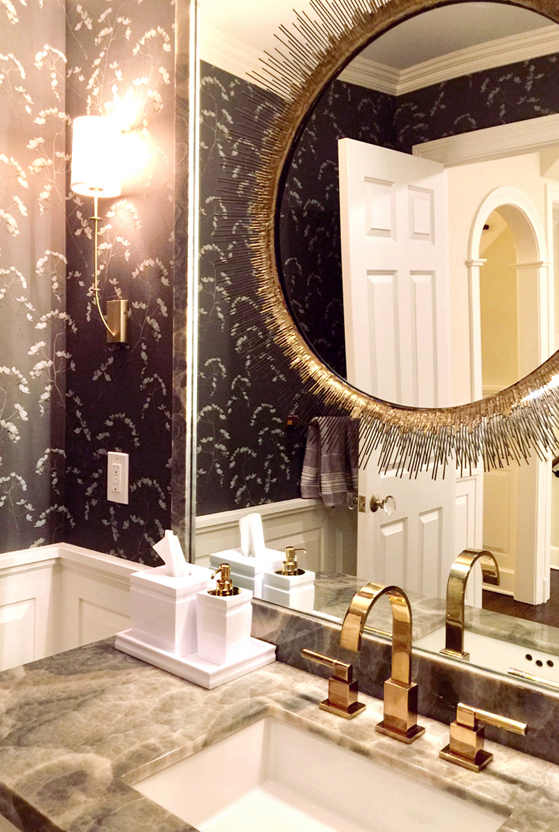 Powder room interior designer